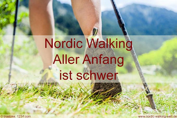 Die richtige Technik beim Nordic Walking