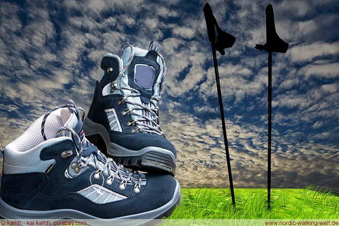 Mit der richtigen Ausrüstung macht Walking mehr Spass. www.nordic-walking-welt.de