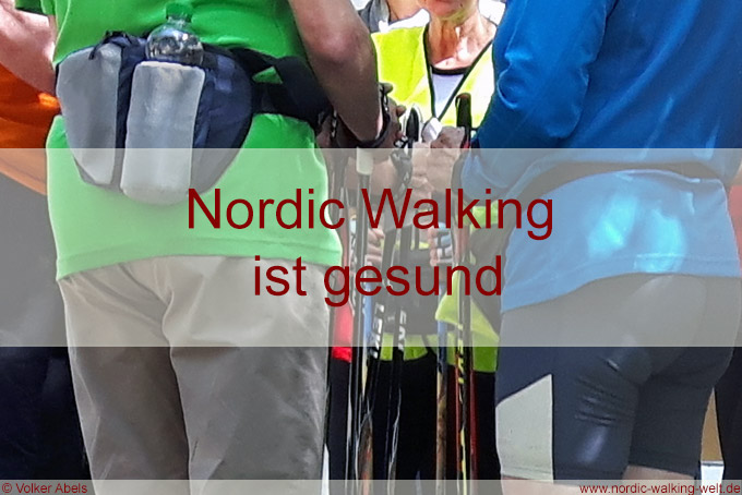 Gesundheitliche Vorteile von Nordic Walking