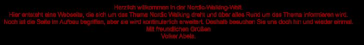 Herzlich willkommen bei www.nordic-walking-welt.de