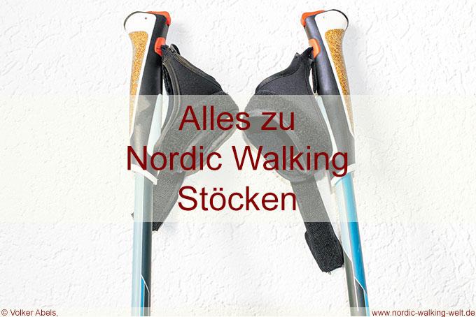 Nordic Walking Stöcke kaufen –  der Leitfaden für den richtigen Nordic Walking Stock