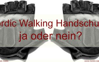 Nordic Walking Handschuhe