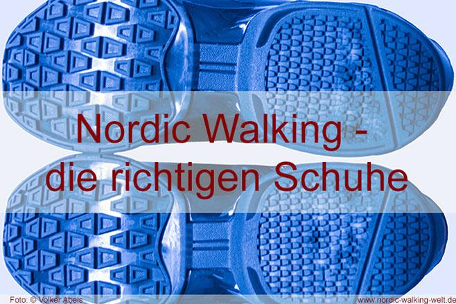 Nordic Walking Schuhe – was ist zu beachten?