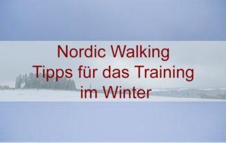 Nordic Walking – Laufen im Winter und bei Minusgraden