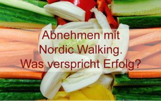 Geht das – mit Nordic Walking abnehmen?