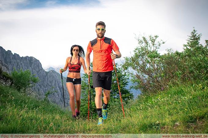 Nordic Walking hält fit und ist für jedes Alter geeignet.