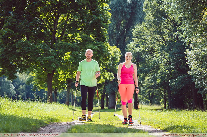 Nordic Walking im Sommer