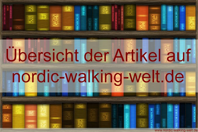Artikelübersicht auf nordic-walking-welt.de